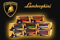 1PC MAISTO LAMBORGHINI MODEL ALLOY DIECAST VEHICLE PULL BACK CAR COLLECTION TOY