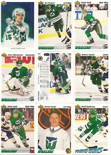 1991-92 UD Upper Deck Hartford Whalers Complete Team Set (29)