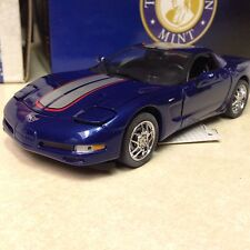 1/24 Franklin Mint Lemans Blue 2004 Corvette Z06 Commemorative Edition B11D009
