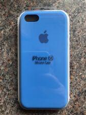 Apple iPhone 5 5s/SE Custodia in Silicone Slim grande maneggevolezza Copertura Originale Blu Royal