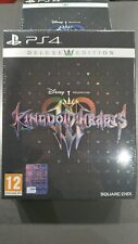 Kingdom Hearts III 3 PS4 DELUXE  EDITION LIMITED