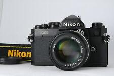 [Almost MINT] Nikon FM2 Film Camera w/ Ai-s 50mm f/1.4 Lens from JAPAN D72