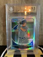 2013 AARON JUDGE BOWMAN CHROME DRAFT REFRACTOR RC ROOKIE GEM MINT BGS 9.5