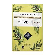 ETUDE HOUSE 0.2 Therapy Air Olive Oil Deep Moisture Korea Facial Mask Pack 5EA