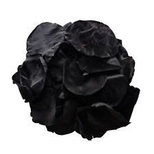 Black biodegradable rose petals preserved for wedding confetti / decoration
