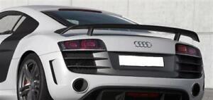 Fits Audi R8 Real Carbon Rear Spoiler Wings Gt Coupe Spyder V10 V8