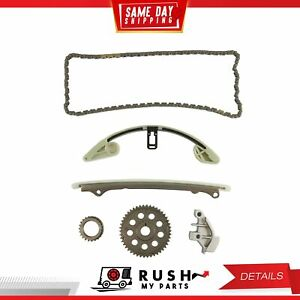 DNJ TK243 Timing Chain Kit For 09-16 Honda CR-Z Fit 1.5L L4 SOHC 16v L15A7 LEA1