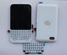 LCD Display/battery cover/frame/Keypad For Blackberry Q5 Full Housing White New
