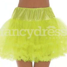 Yellow Underskirt Moulin Rouge Ruffle Tutu Bustle Burlesque Hen Night Party