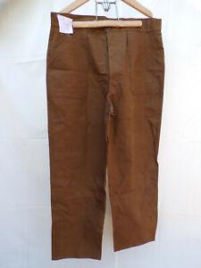 Pantalon bleu travail bourgeron STO WW2 SNCF french Railroad Work trousers
