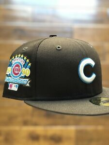 Hat Club Exclusive 59FIFTY New Era Cereal Pack Chicago Cubs Cocoa Puffs 7 3/8