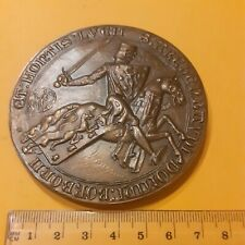 BRONZE MEDALsuperbe Medaille De table BOUBONNAIS