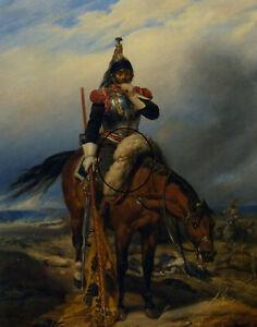 The Field of Battle by Paul Delaroche fine art on canvas