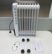 Zanussi 503015 Radiateur à Bain D'Huile avec Électronique Température 1500 W