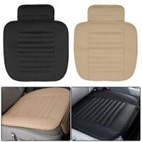 Tapis protection pour siège auto en bambou en cuir respirant noir coussin chaise
