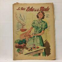 Le Petit Echo de la Mode N°22 - 29 Mai 1949 - Ancien Magazine Français