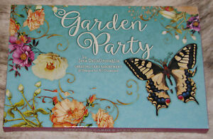 LEANIN TREE Garden Party 20 GREETING CARD ASSORTMENT~20 Different Designs #90803