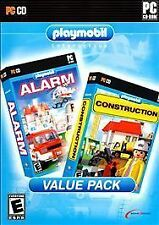 Playmobil Double Pack (No.1) Alarm & Construction Win 2000/XP/Vista PC Games