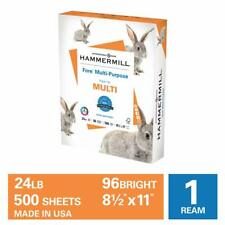 Hammermill Paper, Fore Multipurpose Paper, 8.5 x 11 Paper, Letter Size, 24lb ...