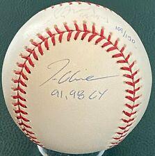 GREG MADDUX TOM GLAVINE Autographed Signed Insc Baseball Atlanta Braves STEINER