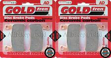 Sinterizado Hh Delantero Pastillas De Freno Para Honda CBR 900 RR1 Fireblade 2001 CBR900 (929cc)