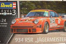 MAQUETTE 1/24 REVELL PORSCHE 911 Type 934 RSR JAGERMEISTER