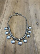 Ethnic Turkish Silver Tribal Necklace