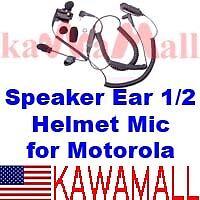 Speaker Ear 1/2 Helmet Mic GP300 HT1250 MTLEBD MHTEBD