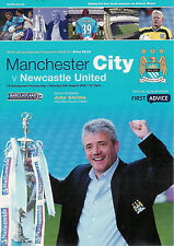MANCHESTER CITY v NEWCASTLE UNITED 24 Aug 2002 FOOTBALL PROGRAMME