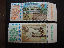 DJIBOUTI - timbre - yvert et tellier n° 502 503 nsg (A7) stamp