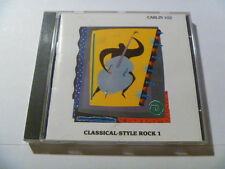 CLASSICAL STYLE ROCK 1 102 CARLIN RARE LIBRARY SOUNDS MUSIC CD