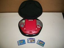 LEAP FROG, LEAPSTER, MULTIMEDIA LEARNING SYSTEM, EDUCATIONAL, 3 GAMES, CARRYCASE