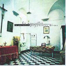 CD album les nouvelles polyphonies CORSES - IN PARADISU
