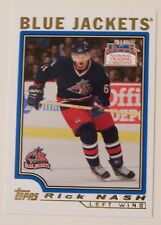 2004 TOPPS NATIONAL TRADING CARD DAY RICK NASH BLUE JACKETS #7