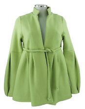 HappyCoat by Tilla Lindig Mantel 32 34 (D) XS 6 Jacke grün Wolle neu o. Etikett