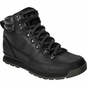 THE NORTH FACE BACK TO BERKELEY HYDROSEAL WATERPROOF MENS BOOTS ALL BLACK