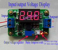 DC-DC 4.5-24V To 0.93-20V Adjustable Step-down Power Module With LED Display
