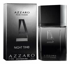 AZZARO NIGHT TIME pour homme 3.4 oz EDT Spray Men's Cologne NEW 100 ml NIB
