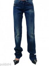 Jeans DIESEL Woman DOOZY blue washed Wash 008II W27 L34 01542