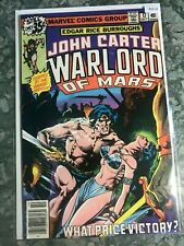 Marvel Comics Group 17 John Carter Warlord Of Mars - HGComic Book  B13-22
