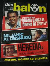 DON BALON 74 BARCELONA - ATLETICO MADRID - REAL MADRID - CELTA - BOCA JUNIORS