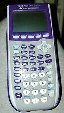 Texas Instruments Ti-84 Plus Silver Edition- Graphing Calculator - Purple
