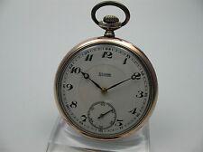 Huta Silesia Silesia Silvana aniversario festivo reloj de bolsillo de 1936 de plata 800