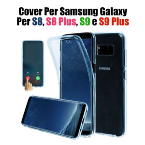 CUSTODIA COVER CASE PER Samsung Galaxy S8 S8 plus S9 S9 Plus Copertura  tpu