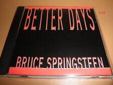 BRUCE SPRINGSTEEN promo SINGLE cd BETTER DAYS demonstration