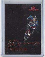 1998-99 PETER FORSBERG UPPER DECK MVP POWER GAME #PG-09