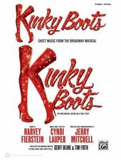 Kinky Boots -- Sheet Music from the Broadway Musical : Piano/Vocal/Guitar (2013,