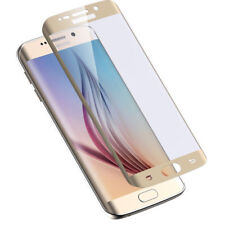 Tzumi ProGlass Tempered Glass Screen Protector Samsung Galaxy S6 Edge Gold