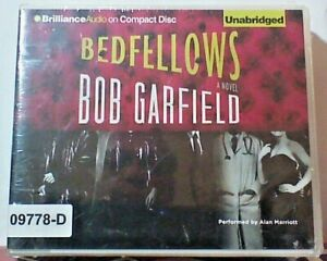 NEW *Sealed* AUDIO BOOK on CDs BEDFELLOWS Bob Garfield 02