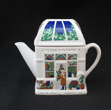 WADE TEAPOT FLORIES FLOWERS ENGLISH LIFE TEAPOTS MADE IN ENGLAND